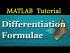 Higher Order Differentiation Formulae
