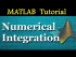 Numerical Integration in MATLAB