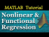 Nonlinear and Functional Regression