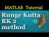 Runge Kutta RK 2 method