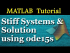 Stiff Systems & Solution using ode15s