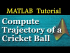 Code to Compute Trajectory of a Cricket Ball | ODE-IVP