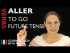 Aller (to go) — Future Tense