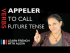 Appeler (to call) — Future Tense