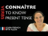 Connaître (to know) — Present Tense