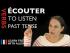 Écouter (to listen) — Past Tense