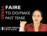 Faire (to do/make) — Past Tense