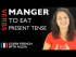 Manger (to eat) — Present Tense