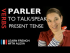 Parler (to talk/speak) - Present Tense