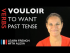 Vouloir (to want) — Past Tense