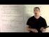 Derivative/Antiderivative of a Power Series 1a - Basics