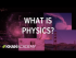 Introduction to physics   One-dimensional motion
