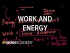 Introduction to work and energy   Work and energy