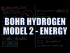 Bohr Hydrogen Model 2: Energy