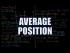Average Position