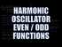 Harmonic Oscillator Even and Odd Functions