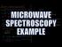 Microwave Spectroscopy Example