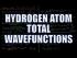 Hydrogen Atom Total Wavefunctions