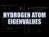 Hydrogen Orbital Eigenvalues