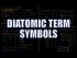 Diatomic Term Symbols