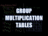 Group Multiplication Tables