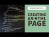How to create an HTML page in Dreamweaver CC