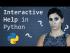 Interactive Help