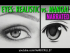 Styles Compared: Realistic Eyes & Manga Eyes