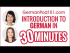 Introduction to German in 30 Minutes: How to Read, Write and Speak
