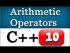C++ Arithmetic Operators for Beginners