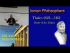 The Ionian Philosophers