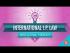 International IP Law