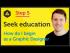 'Seek Education' How do I begin as a Graphic Designer?