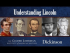 Understanding Lincoln: Emancipation Proclamation (1863)