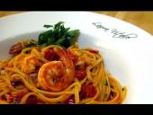 Linguine with Shrimp Al Diablo Recipe (Episode 44)