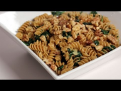 Pasta with Creamy Spinach Sauce Recipe (Episode 251)