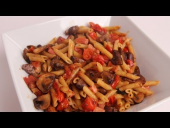 Pennette with Ham and Mushrooms Recipe (Episode 350)