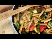 Penne with Sauteed Zuchini and Cherry Tomatoes Recipe (Episode 124)