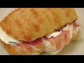 Prosciutto and Mozzarella Sandwich Recipe (Episode 158)