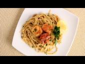 Scallop Scampi over Linguine Recipe (Episode 534)