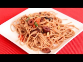 Sweet and Salty Spaghetti Recipe (Episode 638)
