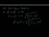 Metric Examples (Part 1)