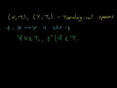 Continuity of Functions Between Topological Spaces