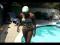 Barracuda Thrust for Synchronized Swimming