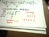 Series: Geometric Series and the Test for Divergence