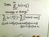 Series Diverges: Using Partial Sums