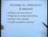Project Appraisal (Part 1)