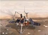 Polar Probe to Land on Mars (National Geographic)