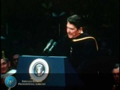 President Reagan's Notre Dame Commencement Address: Source of all Strength Speech (1981)