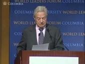 George Soros at the World Leaders Forum (Nov 2010)